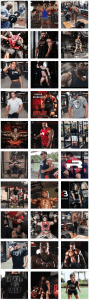 Instagram Social Media Grid From Iron Rebel