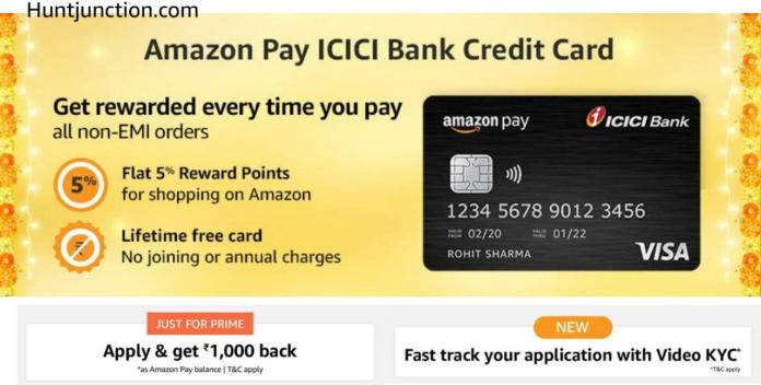 [Live] Amazon Pay ICICI Credit Card: Apply & Get Rs.1000 Cashback As Amazon Pay Balance