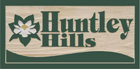 Huntley Hills Neighborhood Sign