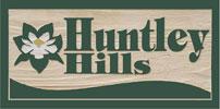 Huntley Hills Neighborhood Sign