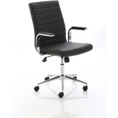 Office Chair Uk Cafe Chairs Johannesburg Ezra Executive Black Leather Huntoffice Co