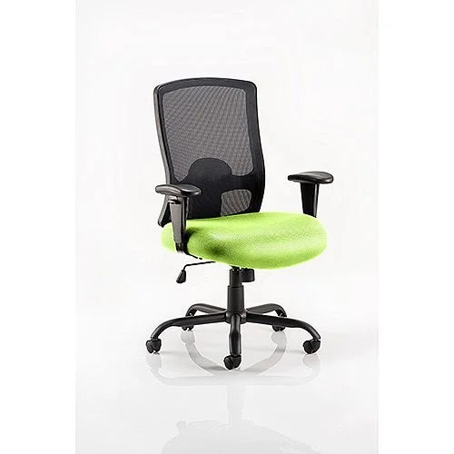 office chair uk dining covers blue portland hd task operator swizzle green huntoffice co mesh back