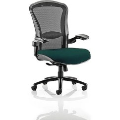 Office Chairs Houston Dxracer Chair Cover Heavy Duty Task Operator Black Mesh Back Kingfisher Green Seat Huntoffice Co Uk