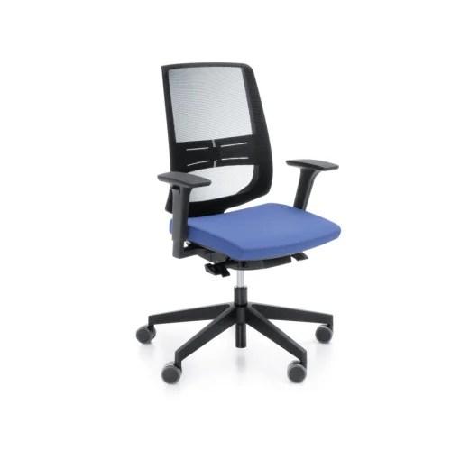 Lightup Modern Design Mesh Office Chair With Lumbar