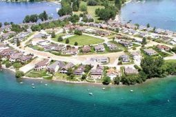 Huntoon Wapato Point Rentals aerial view
