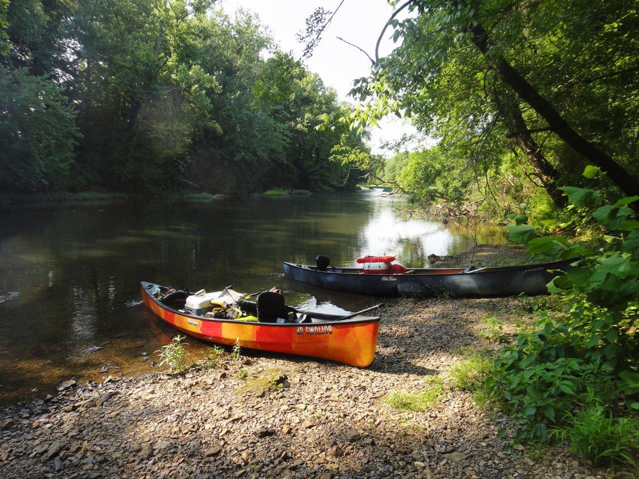 White Water Canoe Al