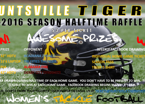 TIGERS NEED YOUR SUPPORT