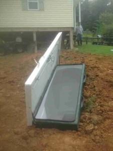 LS-8 Hillside install 1