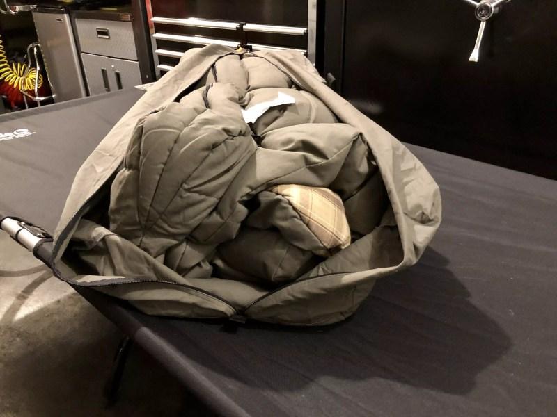 Kodiak Canvas Z Top Sleeping Bag, Storage Bag