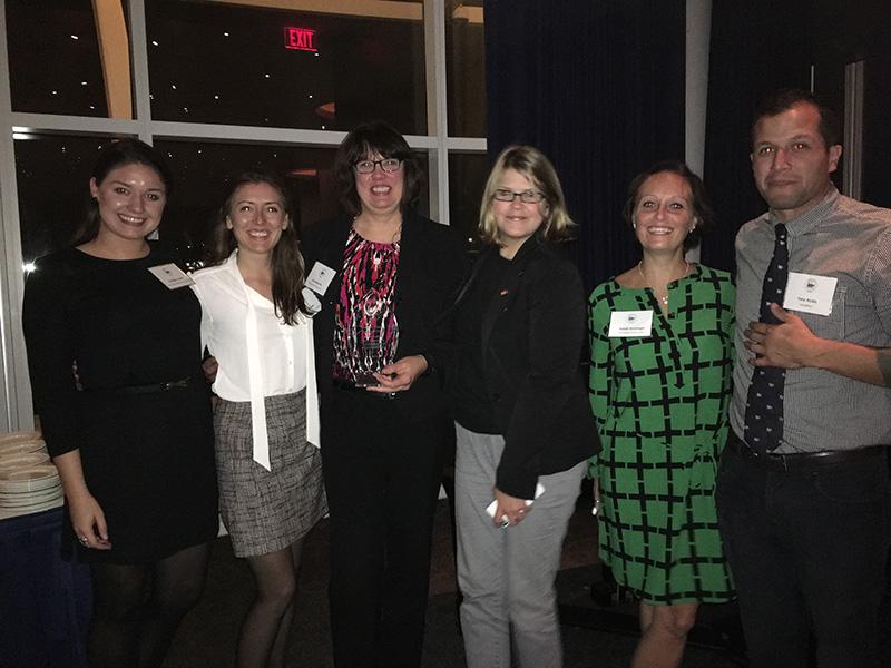 Hunzinger's Milwaukee Art Museum Project WCREW Judge's Choice Impact Award