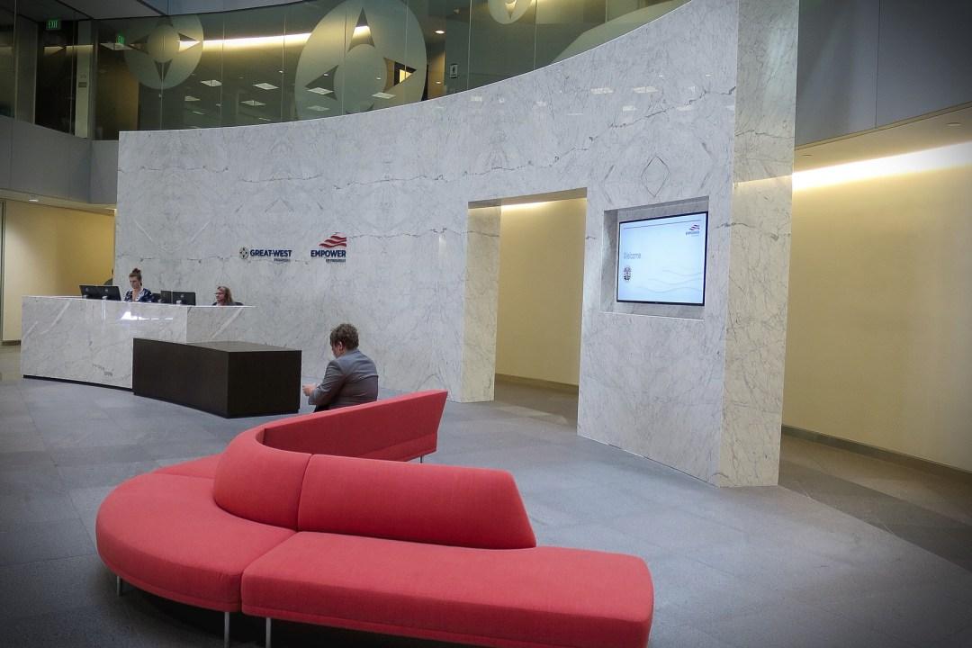 Lobby Marble Wall