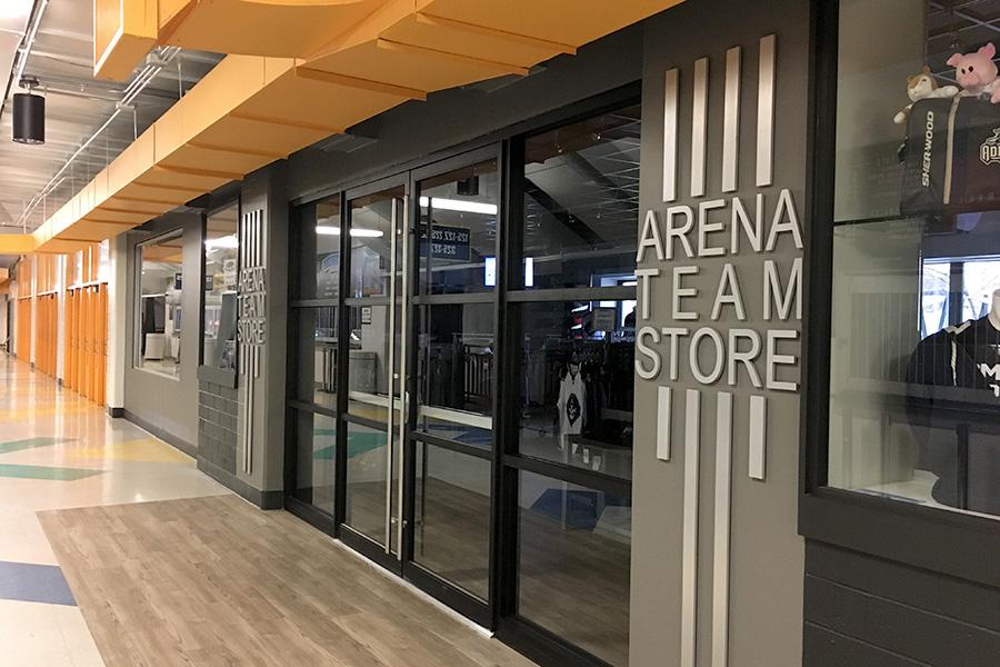 UW-Milwaukee Panther Arena Milwaukee Admirals Alteration