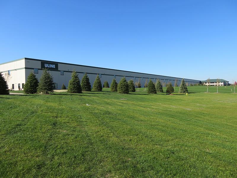 Hunzinger Completes Uline I6 Branch Distribution Facility