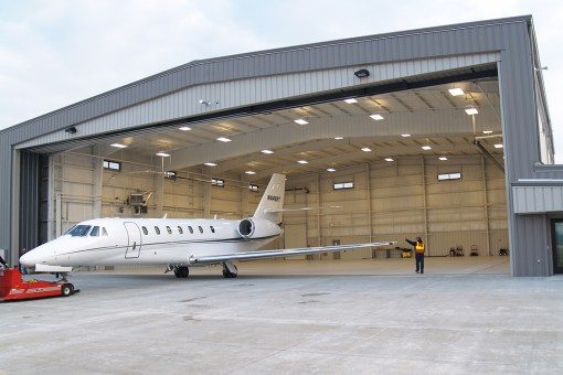 CUNA MUTUAL GROUP CORPORATE AIRCRAFT HANGAR