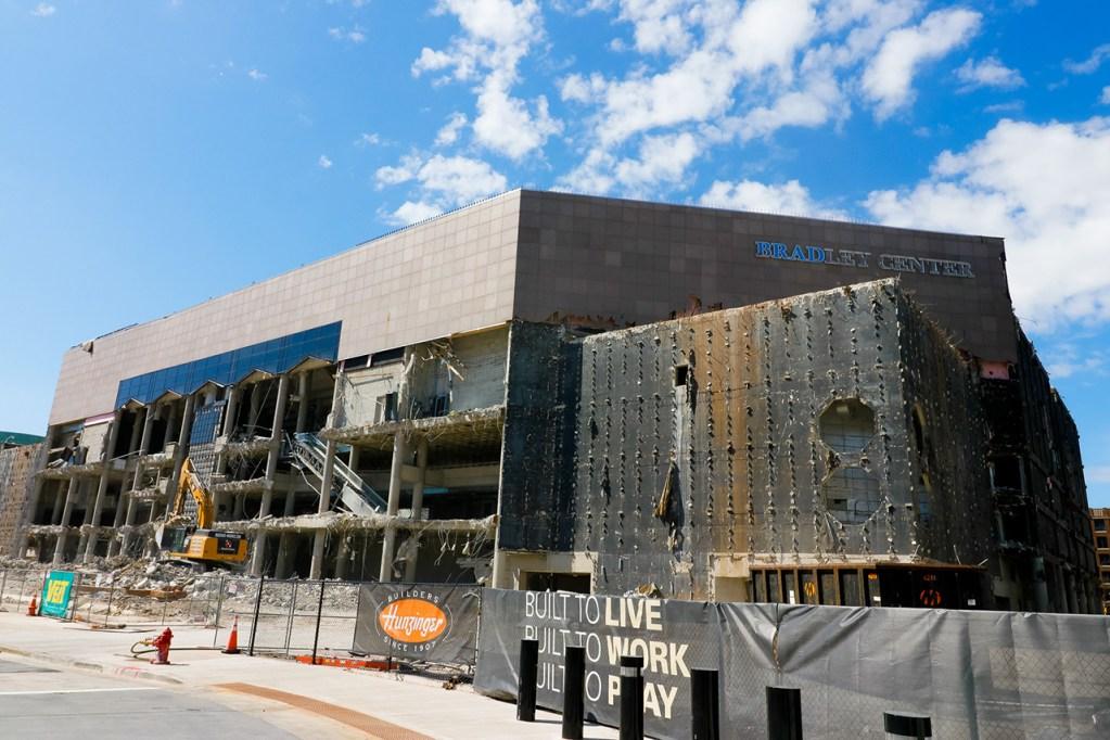 The BMO Harris Bradley Center (Demolition)