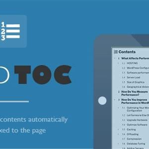 Tạo mục lục bài viết với Fixed TOC