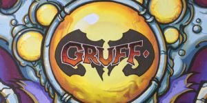 Gruff. A Two Player, Tactical Card Game of Crazy, Mutated, Madness.