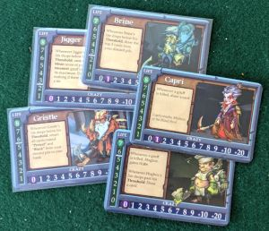 Sample Shepherd Cards from Gruff: The Fantasy Card Game