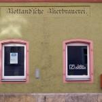 Frontseite der ehemals Bolland'schen Bierbrauerei. Regensburg. Foto: Hufner
