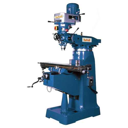 PF-2S Step Speed Head Geared Head Drilling & Milling Machine
