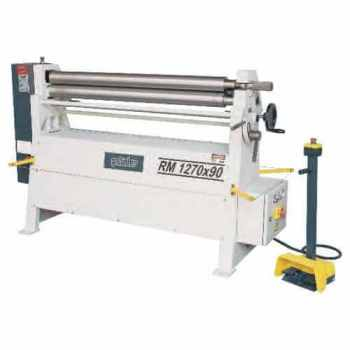 RM Series 3 Rolls Manual Plate Bending Machines