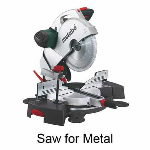 Saw for Metal