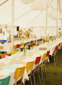 Stylish Long Tablescapes on a Budget #2: Opt for Color and ...