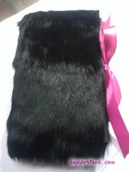 #020 Furdori made from Rabbit fur. There are my filled daily inserts stored