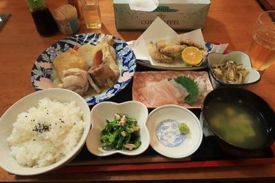 旅の館 阿檀 夕食2