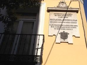 La casa de Don Francisco de Ovedo Villegas
