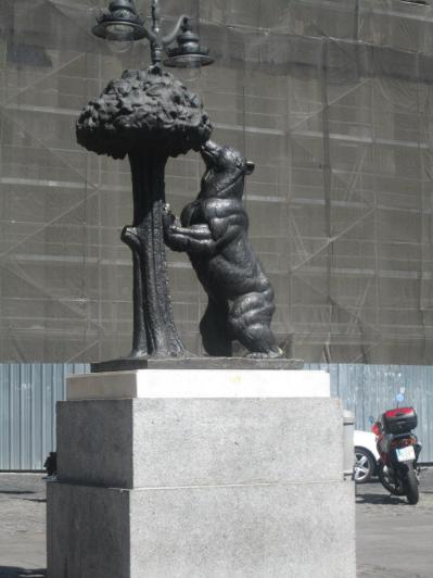El Oso y El Madroño (the bear and the strawberry tree)- a symbol of the city