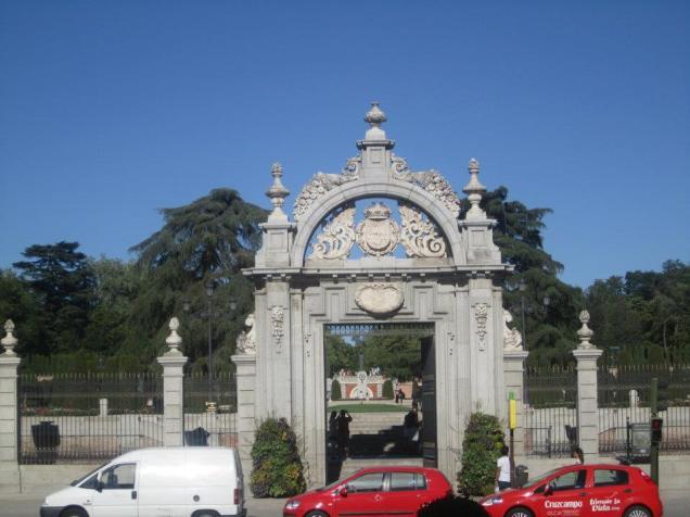 Jardines del Museo del Prado
