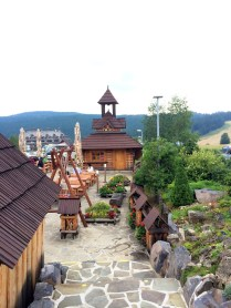 View from Restaurant in Donovaly Ski Resort , Slovakia