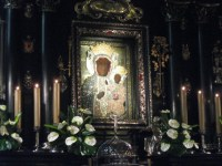 Close Up of Black Madonna of Częstochowska