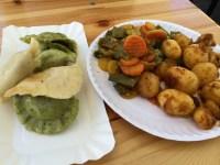 Spinach and Potato Pierogies