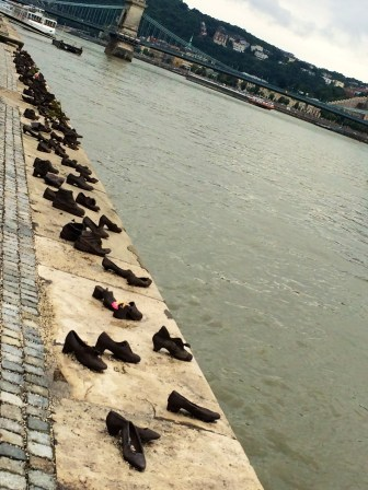 The Shoes Along The Danube Promenade