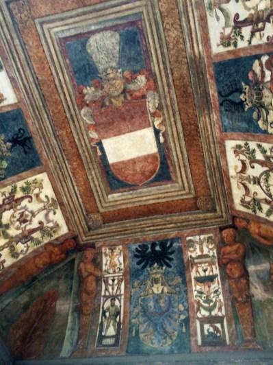 Ceiling View from Inside Drawbridge