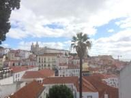 Miradouro de Santa Luzia In Lisbon, Portugal