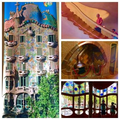Casa Batlló In Barcelona, Spain