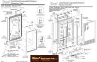 Hurd casement window parts assembly diagram