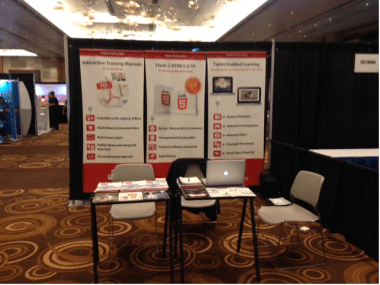 Hurix Systems Booth at DevLearn, 2013
