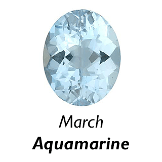 March Birthstone - Aquamarine