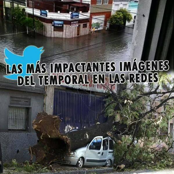 Inundaciones en Hurlingham