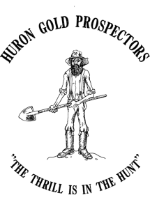 Huron-Gold-Prospecctor Downieville Gold Digger logo no
