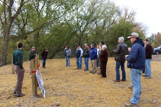 Partners and community members gathered to celebrate clean water at a ribbon cutting ceremony