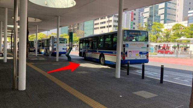 ⑨5番バス停 ~朝日湯源泉の行き方~