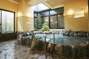 萩の湯 露天風呂