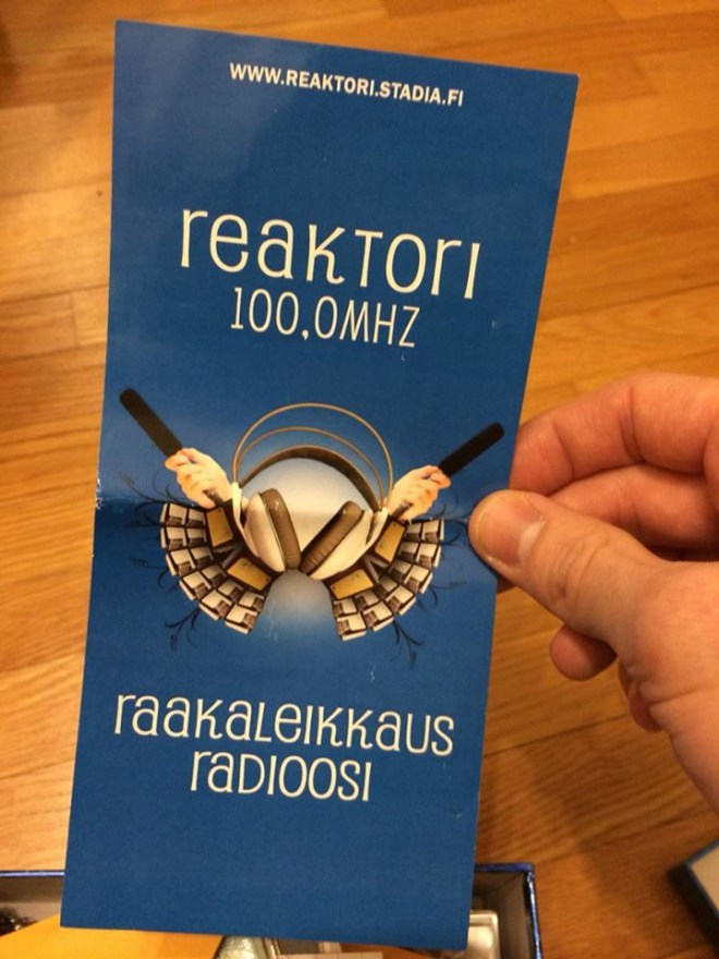 Metropolia Stadia Radio Kerkko Laakso
