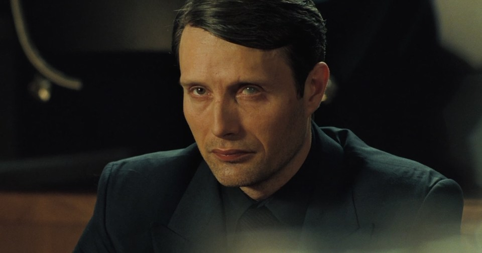"""""""Do you believe in God, Mr. Le Chiffre?"""" """"No. I believe in a reasonable rate of return."""""""