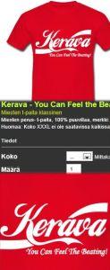 Kerava nettikauppa Can Feel The Beating